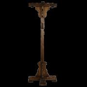 Вешалка напольная с элементами ковки