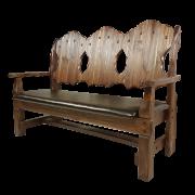"""Кресло-скамья """"Добряк"""" (кожа)"""